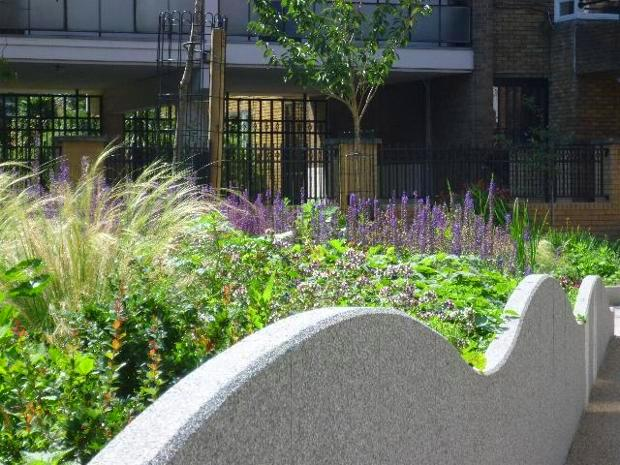 garden design landscaping. Percival Triangle Scheme  London Islington Malta Str Open Space Attractive planting on central Welcome to Crasemann Landscape Architecture Garden CRASEMANN LANDSCAPE ARCHITECTURE GARDEN DESIGN